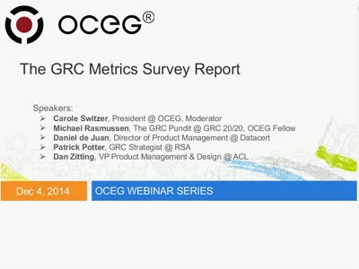 The GRC Metrics Survey Report