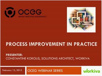 Process Improvement in Practice