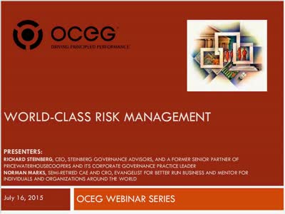 World Class Risk Management
