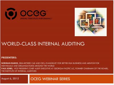 World Class Internal Auditing