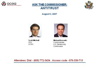 ASK THE COMMISSIONER: Antitrust