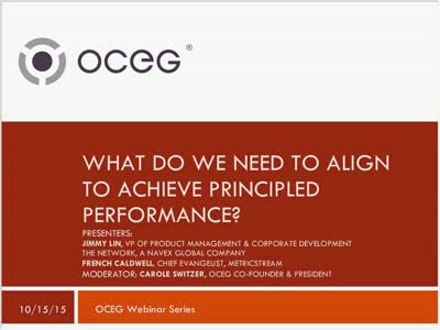 What Do We Need to Align to Achieve Principled Performance GRC Capabilities Illustrated Series Part 2