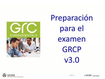 25. Preparacion para el examen GRCP
