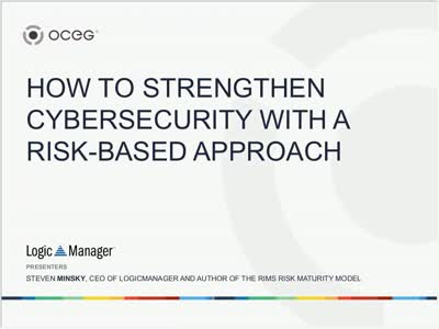 How to Strengthen Cybersecurity with a Risk Based Approach