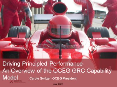 Driving Principled Performance An Overview of the OCEG Framework
